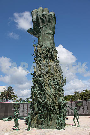 Holocaust Memorial in Miami Beach