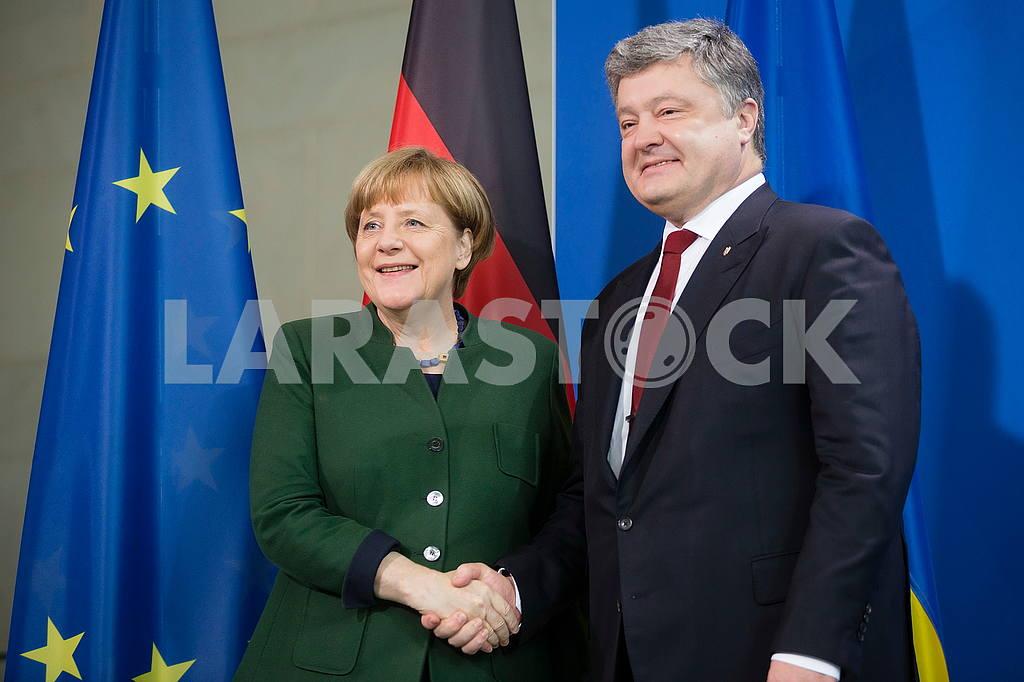 Angela Merkel, Petro Poroshenko — Image 50904