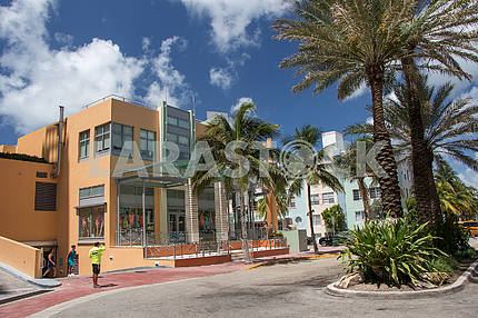 Магазин одежды в Майами-Бич