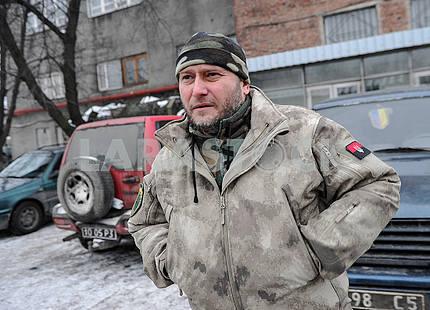 Dmitry Yarosh, deputy of the Verkhovna Rada