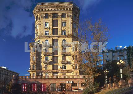 House on Khreshchatyk in Kiev