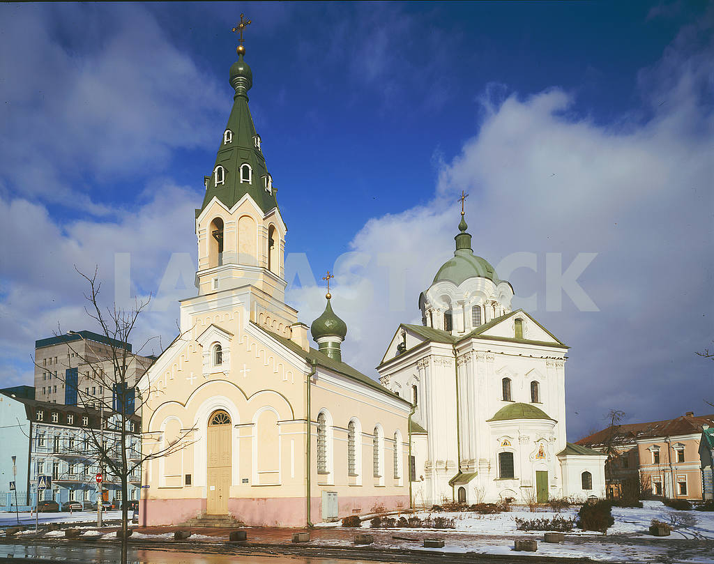 Ilyinsky Church in Kiev — Image 51129