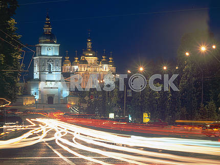 St. Michael's Golden-domed Cathedral in Kiev