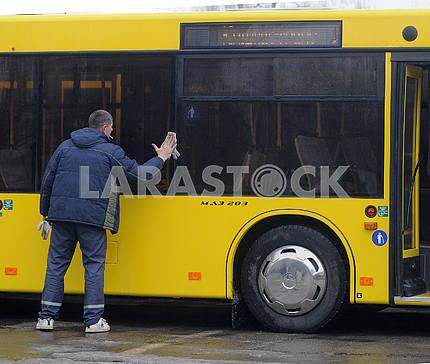 "Worker of ""Kyivpastrans"""