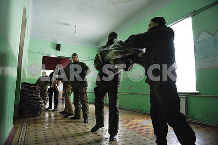 Humanitarian assistance in Avdeevka