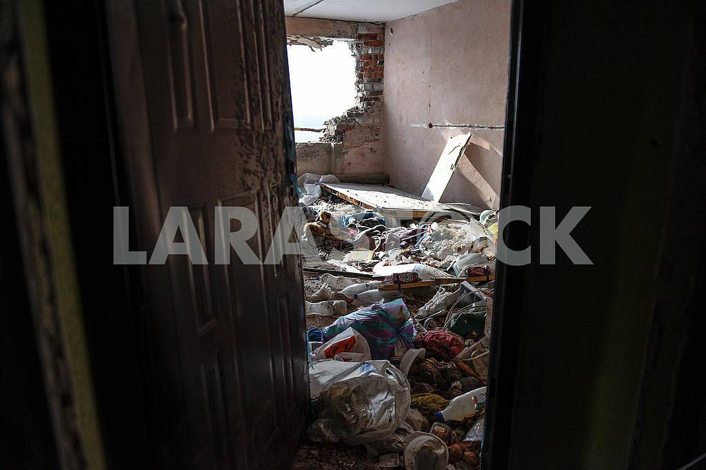 Разрушенные дома в Авдеевке — Изображение 51185