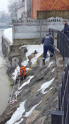 Rescuers in Transcarpathia