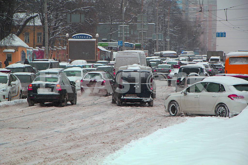 Congestion in Kiev — Image 51276