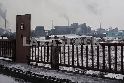 Avdeevsky coke chemical plant.