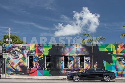 "The restaurant ""House Winwood."" Miami"