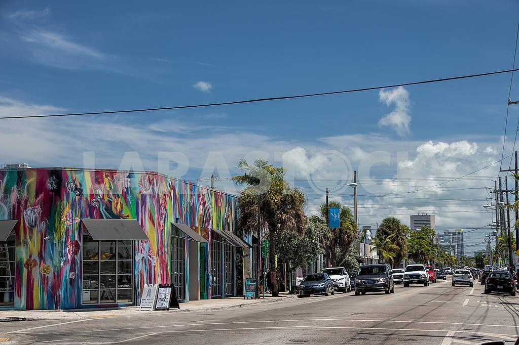 Street Northwest 2nd Avenue. Miami — Image 51388