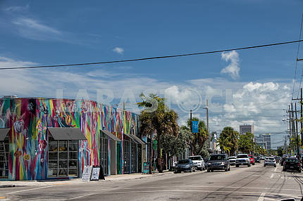 Street Northwest 2nd Avenue. Miami