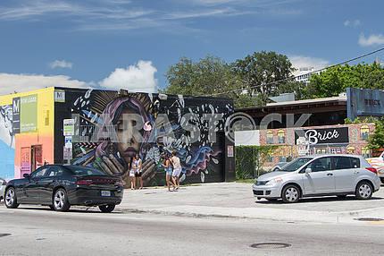 Artistic quarter. Miami