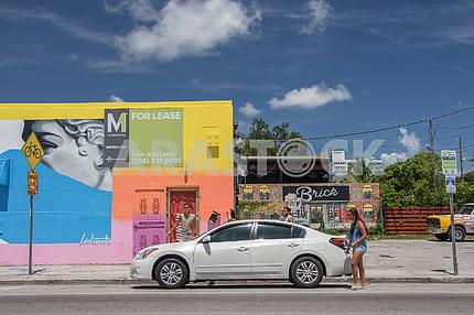 Туристы на отдыхе. Майами