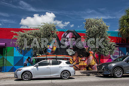 Artistic quarter in Miami