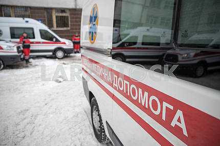 New ambulances for residents of Kiev