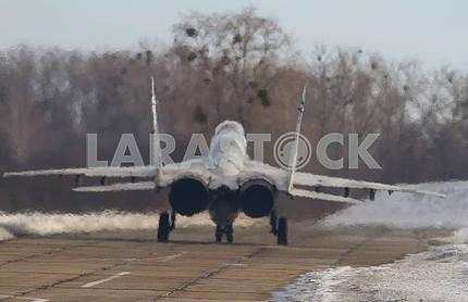 Takeoff MIG-29