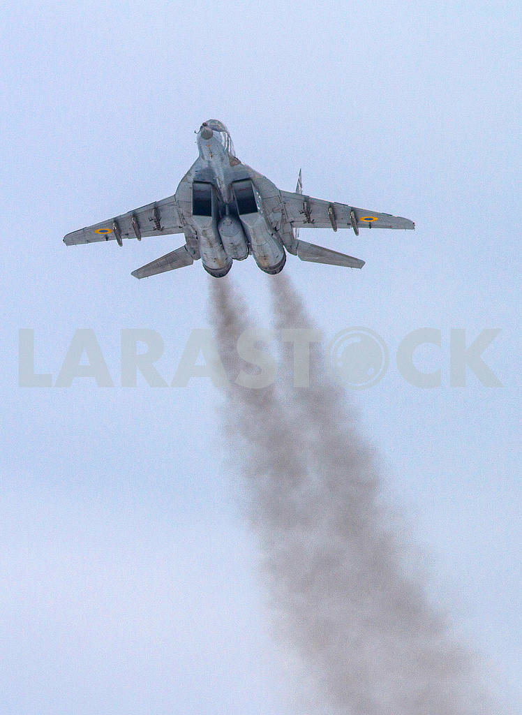 Flaying plane fighter mig-29 — Image 51663