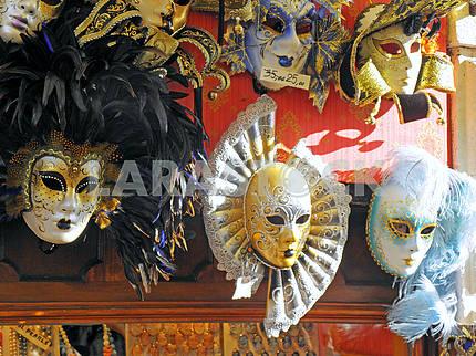 Карнавал в Венеции, маскарадные костюмы, 4