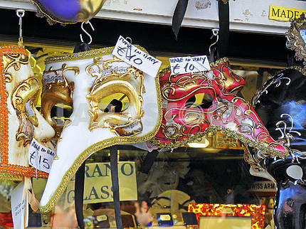 Carnival in Venice,fancy masks,5
