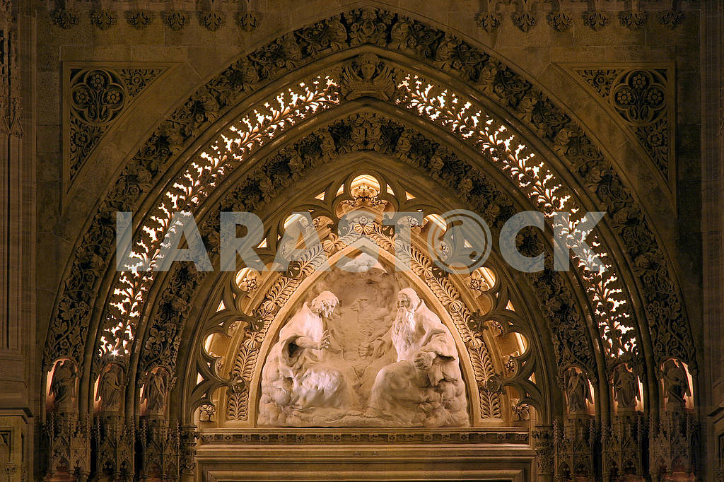 Entrance portal of the Zagreb cathedral — Image 51673