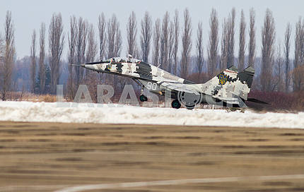 Landing MIG-29