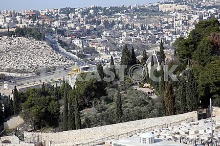 Russian Church St. Mary Magdalene, Mount of olives, Jerusalem