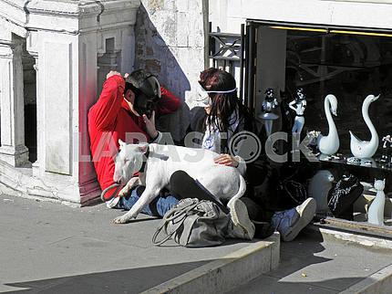 Карнавал в Венеции, Италия, Европа, 1