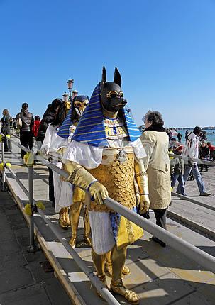 Карнавал в Венеции, Италии, Европе, 3