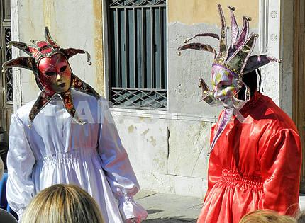 Карнавал в Венеции, Италия, Европа, 4