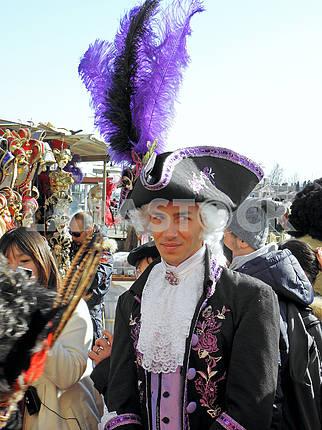 Карнавал в Венеции, Италии, Европе, 6