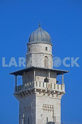 Minaret in the Old City of Jerusalem
