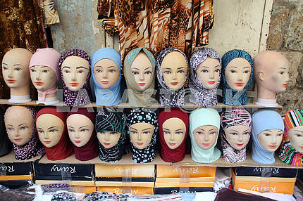 Head Scarves for sale in Jerusalem