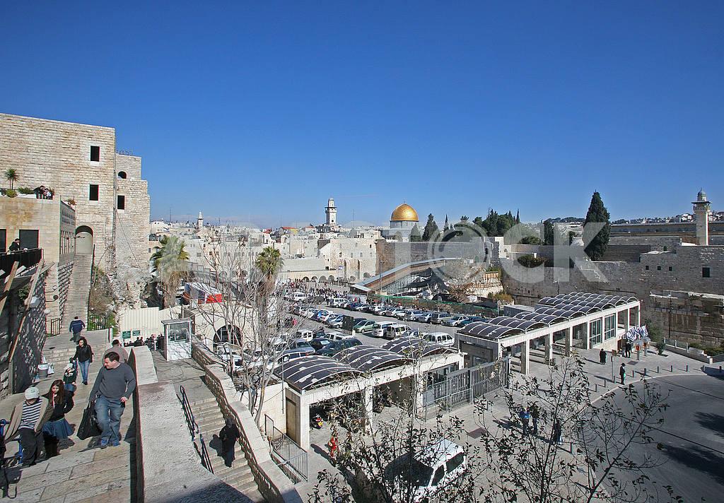 Wailing wall, western wall in Jerusalem — Image 51766