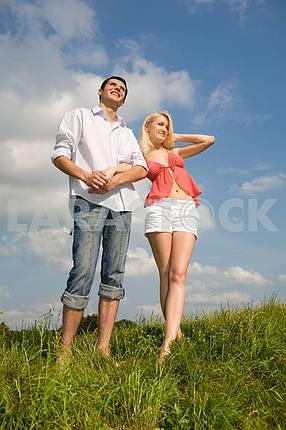 Молодые любви, пара