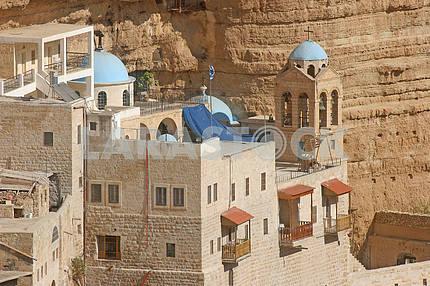Saint George monastery in Judea desert, Israel