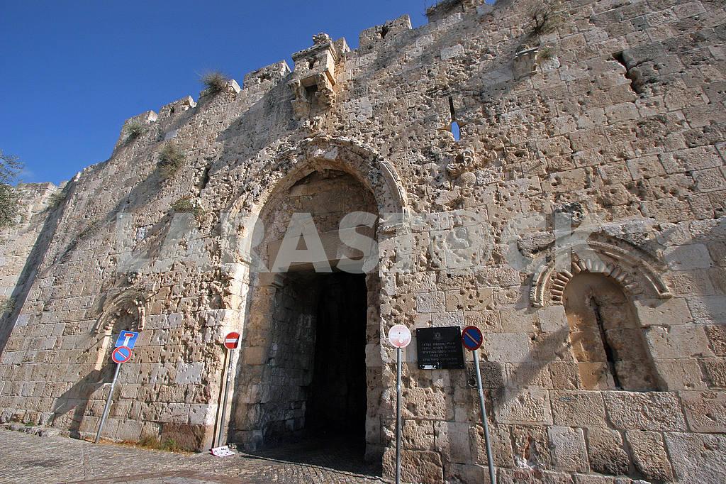 Zion gate Jerusalem — Image 51887