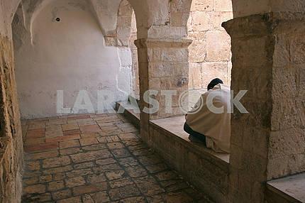 Двор в Горе Сион, Иерусалим, Израиль