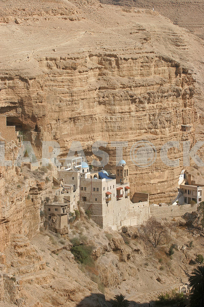 Saint George monastery in Judea desert — Image 51894