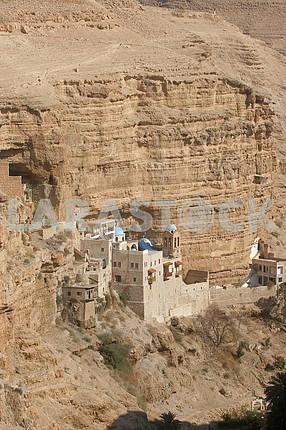 Saint George monastery in Judea desert