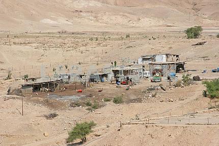 Village in Judea desert, Israel