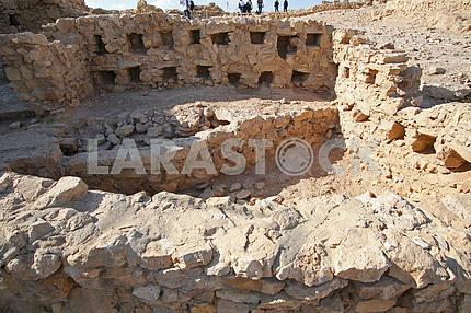 Крепость Масады в Израиле