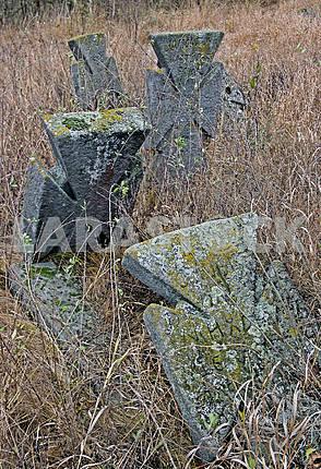 Cross in the cemetery XVIII-XIX centuries.