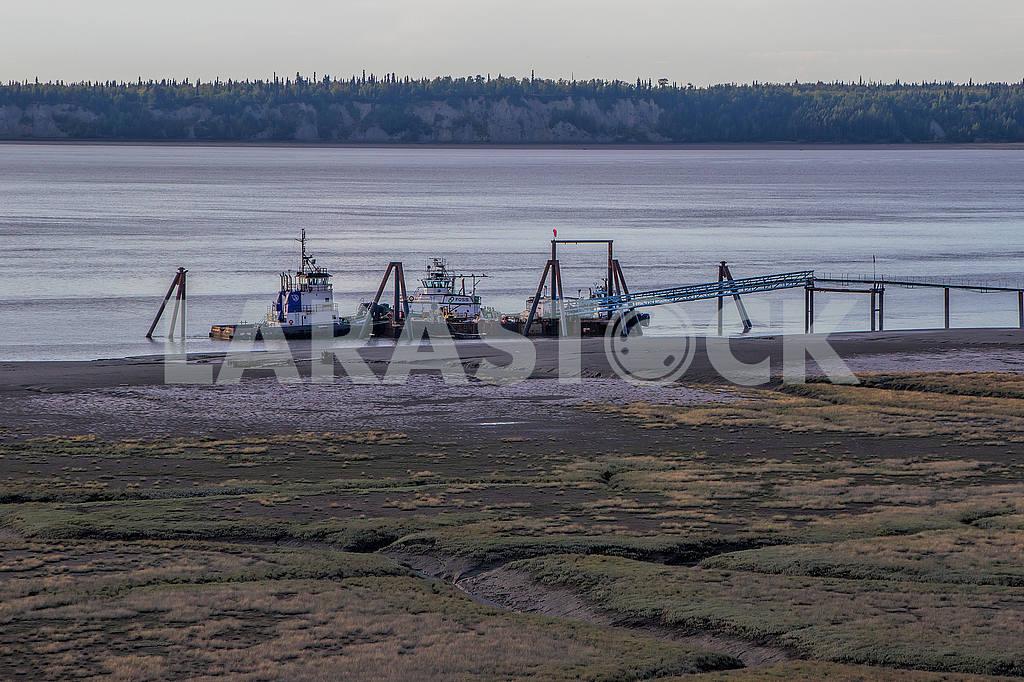 Pier. Anchorage. Alaska — Image 51971