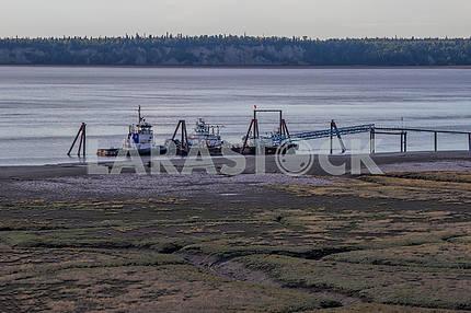 Pier. Anchorage. Alaska