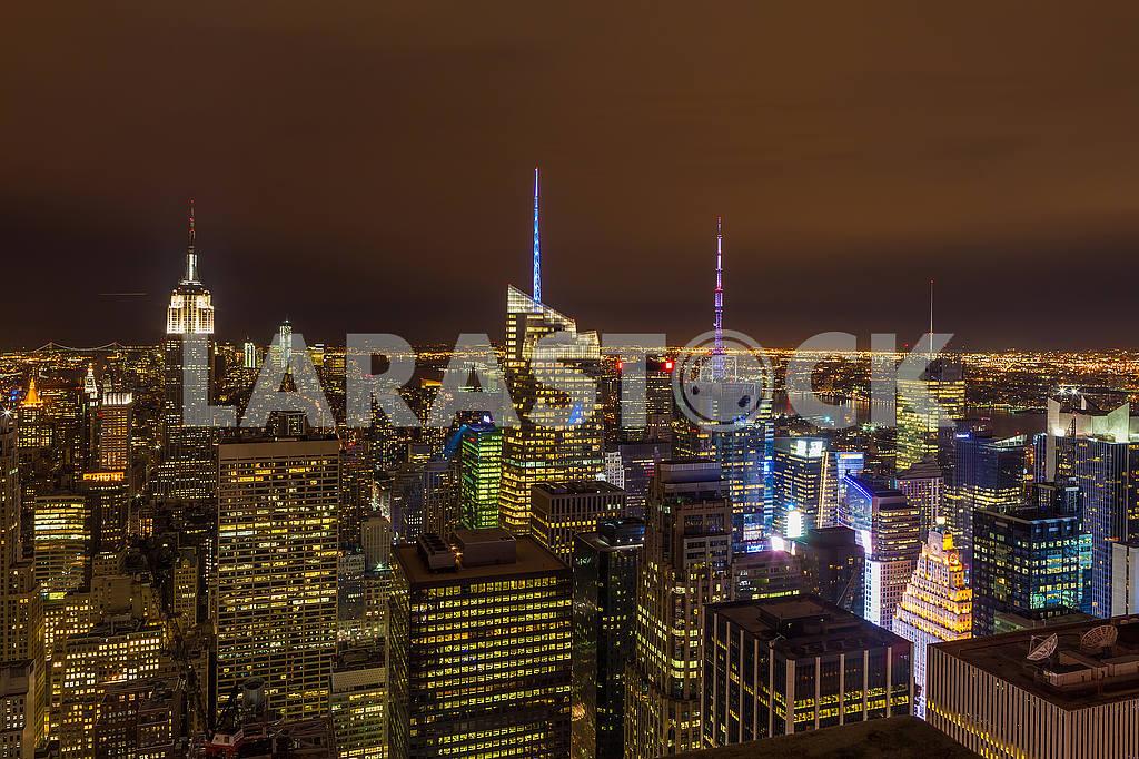Night New York. USA — Image 51984