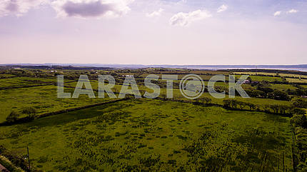 Aerial Countryside