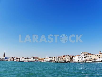 Venice by springtime,docks and lagoons,7