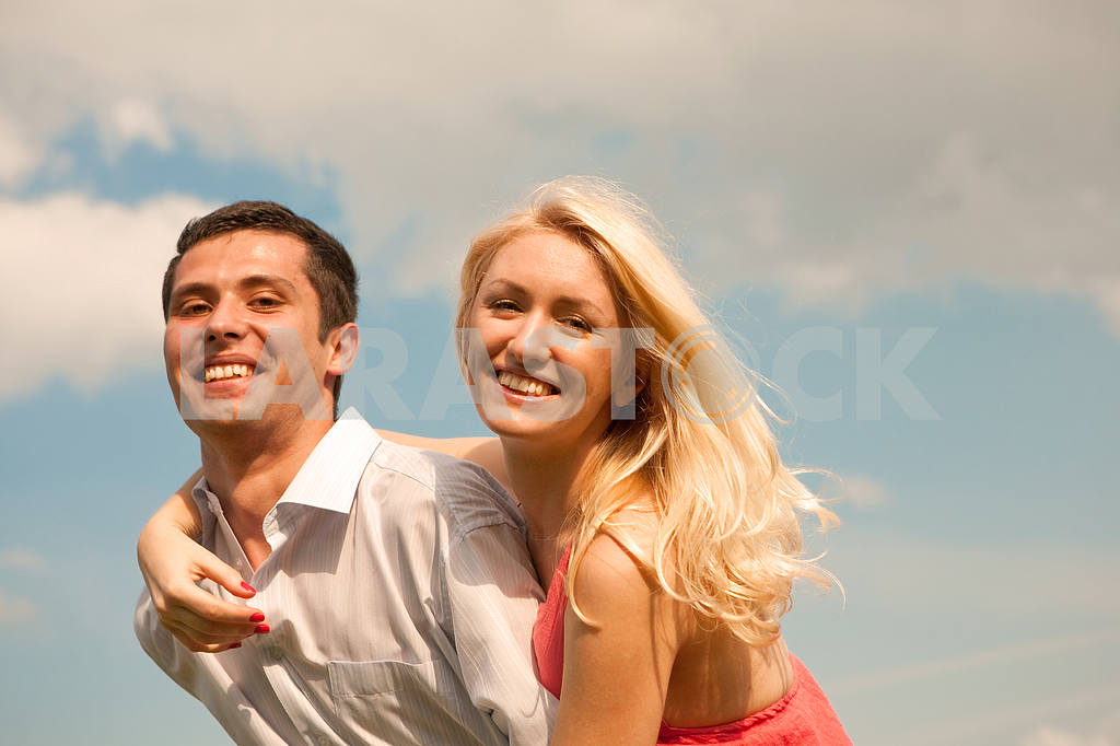 Happy young couple  — Image 5203