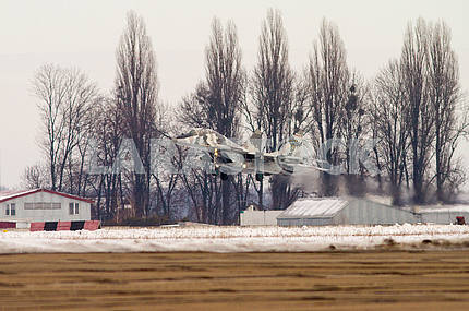 Посадка Миг-29